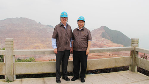 <p>On Jun 10<sup>th</sup>, 2014,delegates of Barrick Gold Corp. visited Zijin Mining.</p>