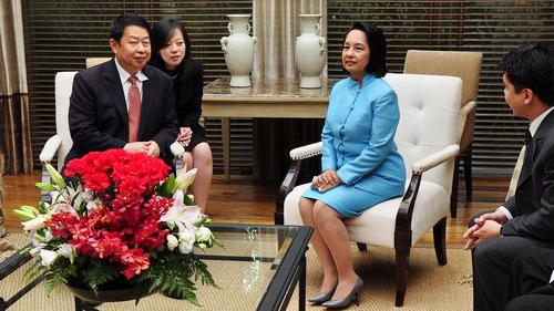 <p>On Oct 19<sup>th</sup>, 2009, President of Philippines Arroyo met with Chairman of Zijin Mining Group Chen Jinghe.</p>