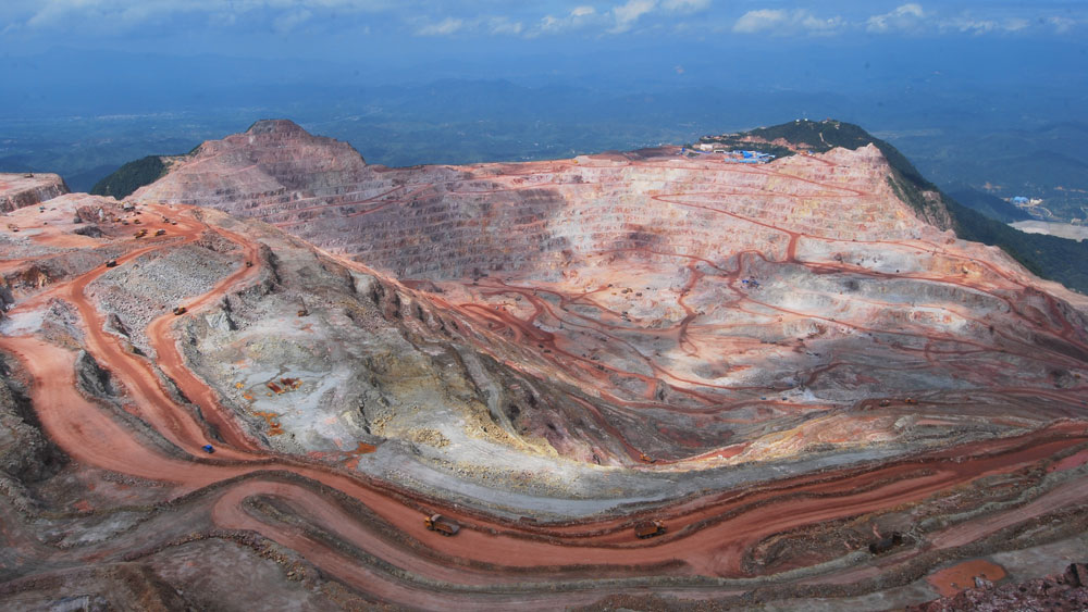 Zijinshan Gold & Copper Mine